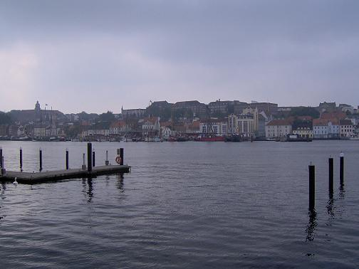 Flensborg - harbour view from west